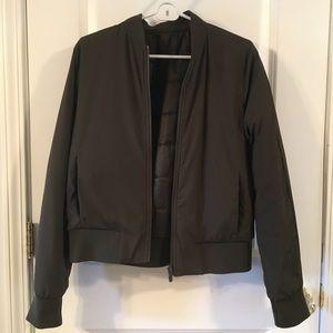 Lululemon reverse-able bomber jacket